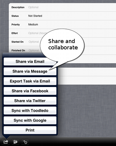 Share and Collaborate