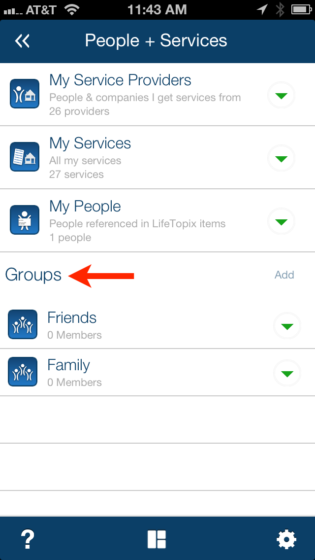 LifeTopix Groups