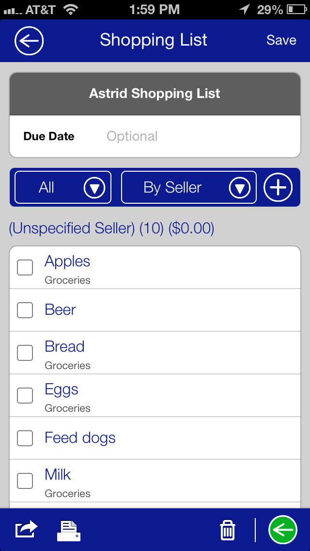ShoppingListScreenshot