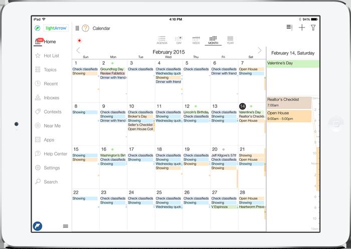 LifeTopix Calendar