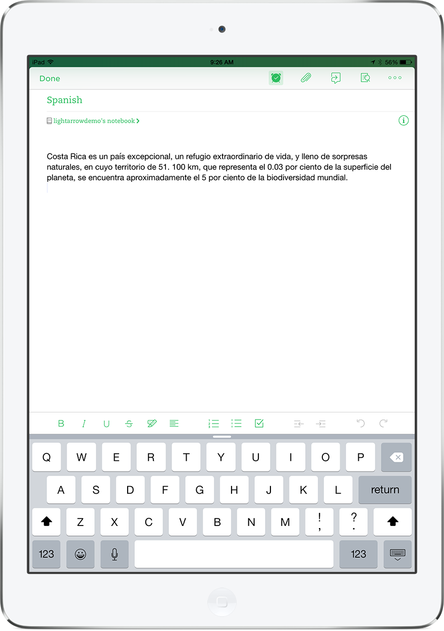Evernote Note Synced with LifeTopix